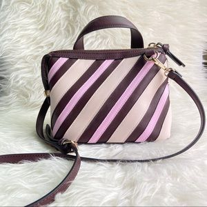 ZARA | Striped City crossbody bag